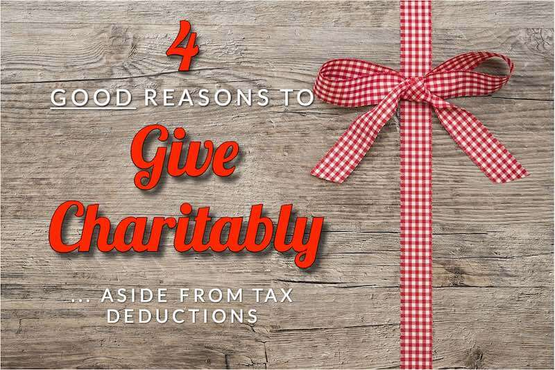 Menden's Four Good Reasons To Give Charitably, Aside From Tax Deductions  - Accountant, Accounting, Tax Services, Tax Preparation Shakopee MN
