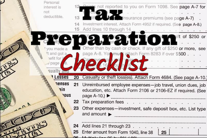 R. Menden Accounting & Tax Service's 2017 Tax Preparation Checklist  - Accountant, Accounting, Tax Services, Tax Preparation Shakopee MN